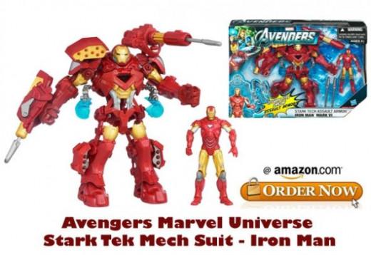 Avengers Marvel Universe Stark Tek Mech Suit - Iron Man