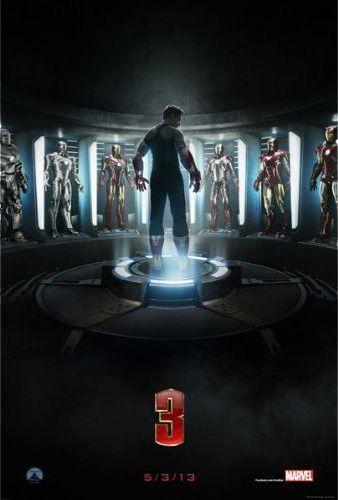 Iron Man 3 Movie Poster - (19 x 28)
