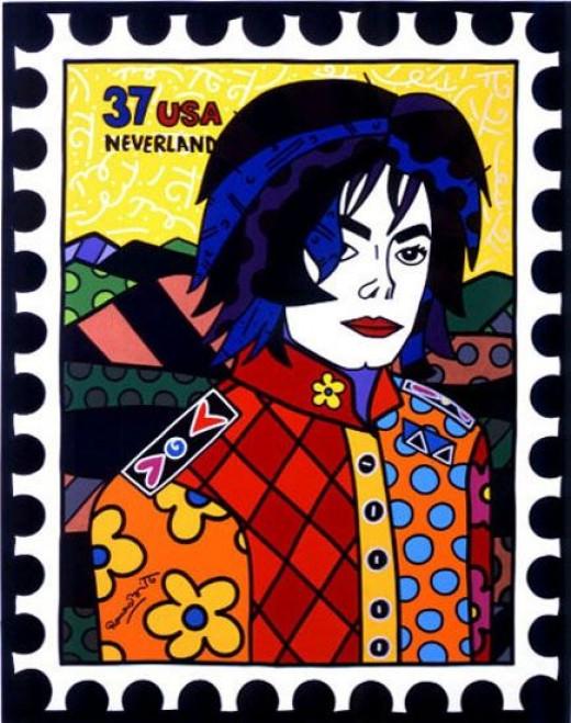 "Michael Jackson - Acrylic on canvas - 60"" x 48"" 2003"