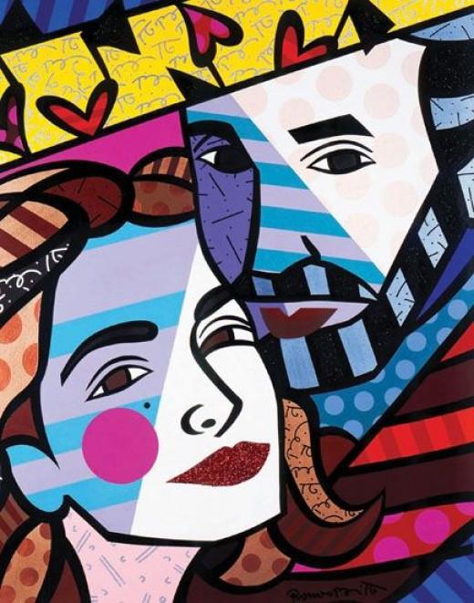 "Emilio And Gloria Stefan - Acrylic on Canvas - 48"" x 36"" 2005"