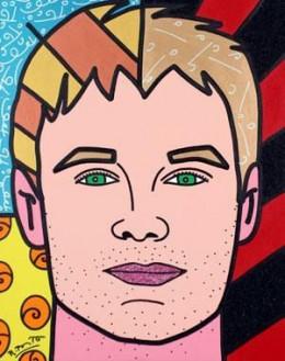 Ryan Seacrest - Acrylic on Canvas