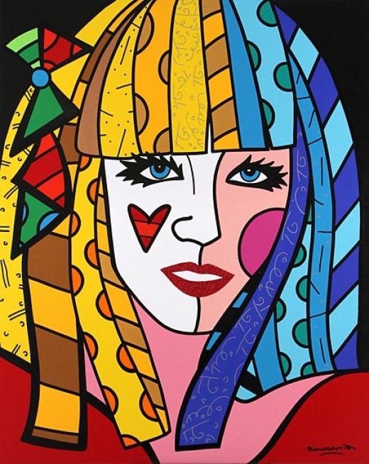 Lady Gaga - acrylic on Canvas