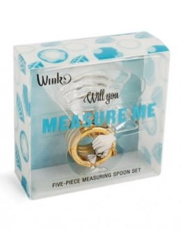 Measure Me - Diamond ring shaped measuring cups