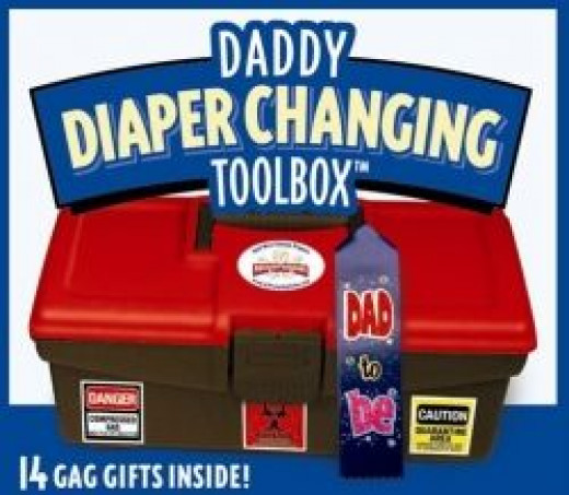 The Daddy Diaper Changing Toolbox