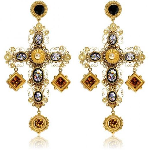 Dolce & Cabbana Byzantine Cross