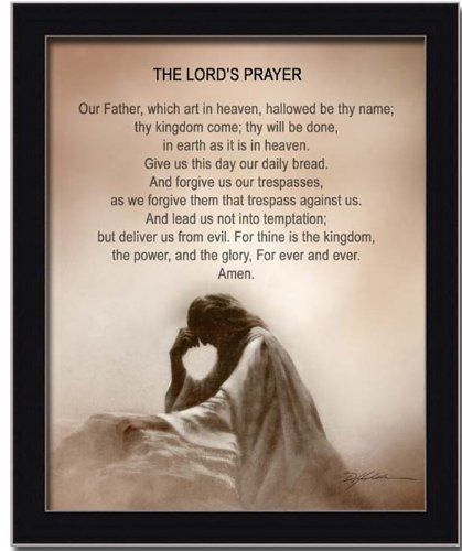 Click on The Lord's Prayer at Amazon