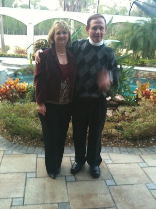 Tom & Cyndi in Florida 12/31/10