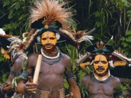 Papuan Tribesmen