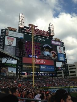 July 2013 Comerica Park