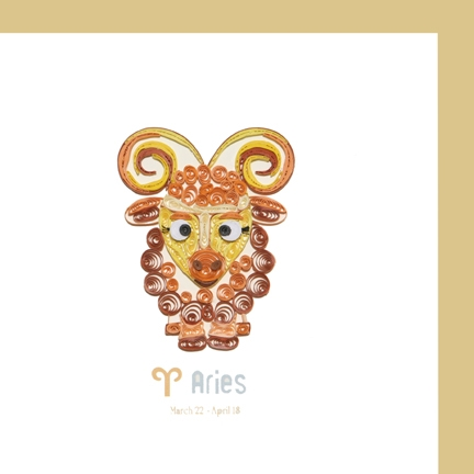 Aries - March 22 to April 18