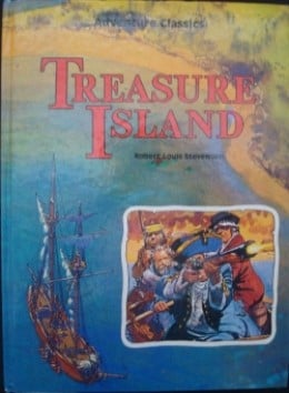 book report on the treasure island Treasure island by robert louis having never read the book themselves they are under the impression that a book about pirates and treasure can only appeal to.