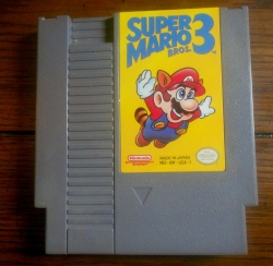 My Super Mario Bros 3 cart