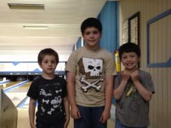 My 3 boys 2013.