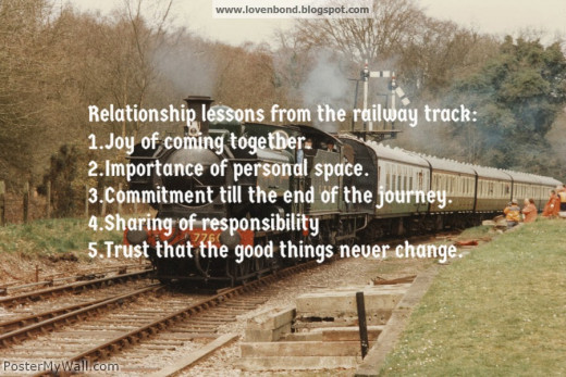 Lessons from a railway track