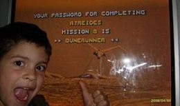 Password for last level we earned