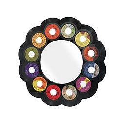 Reclaimed 45rpm Record Mirror Recycled