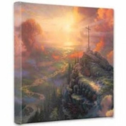 The Cross by Thomas Kinkade