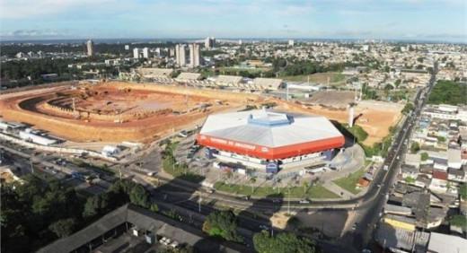 Stadium Arena da Amazonia - Manauscapacity: Under construction