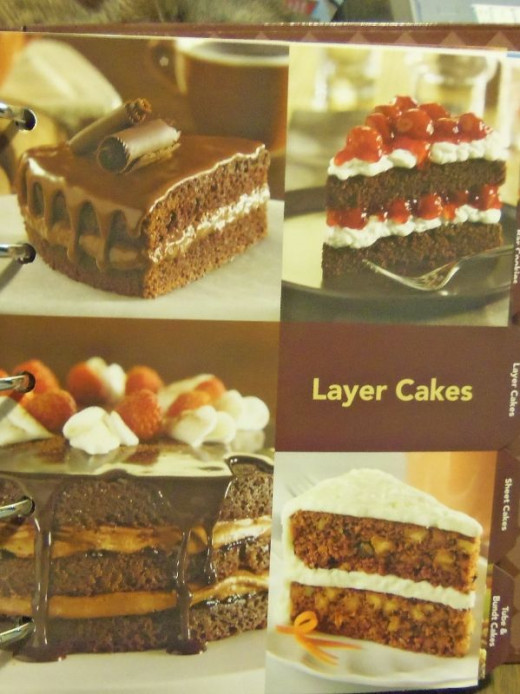 Layer cakes.
