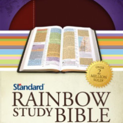 Rainbow Study Bible ~ Christian Gifts