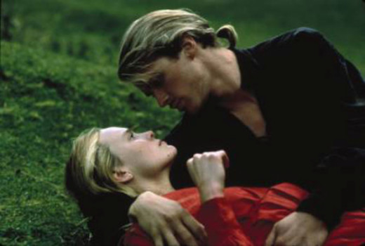 Buttercup (Robin Wright) Princess of Florin, learns her beloved Westley is alive.