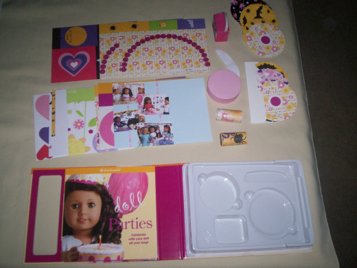 American Girl Doll Parties Kit