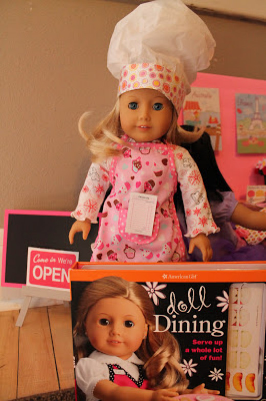 Google images of American Girl Dining Kit
