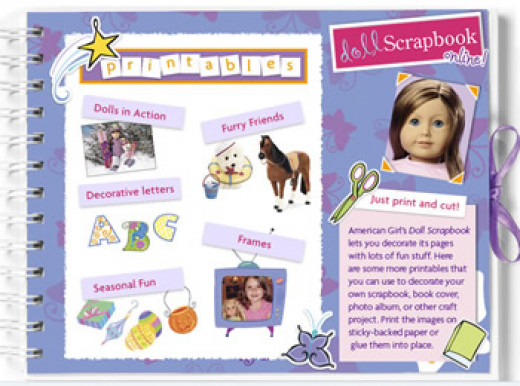 Google images AG Doll ScrapbookingKit