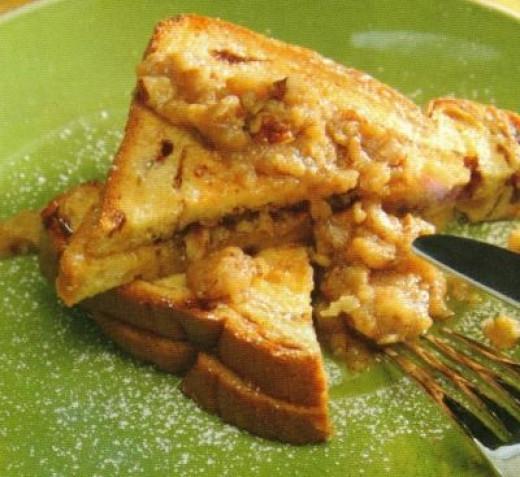 Pecan Pie French Toast