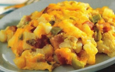 Western Pepper & Eggs Strata