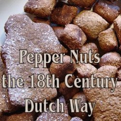 * Pepper Nuts and Christmas Cookies the Old Dutch Way