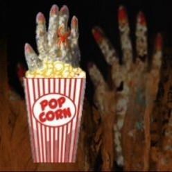 * Popcorn Hands for Halloween