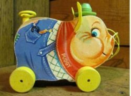 fisher price porgy pig