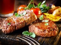 Succulent seasoned red meat full of flavour
