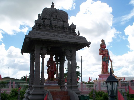 Hunuman Temple - The Statue is 85 ft high