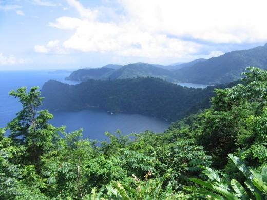 Overlooking Maracas Bay, Trinidad