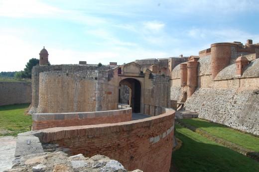 Fortress of Salses near Perpignan