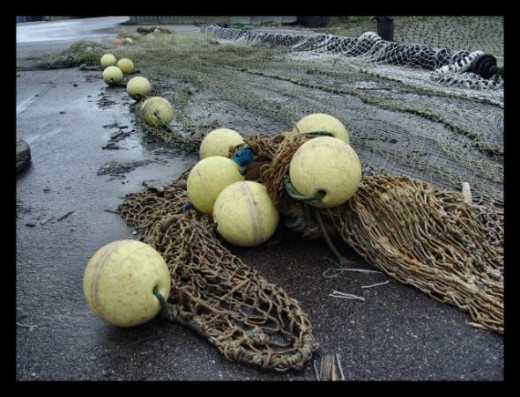 fishing net balls