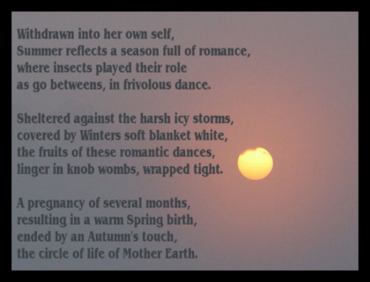 poem circle of nature