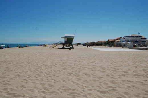 Leucate Plage, a lovely sandy beach and plenty of space