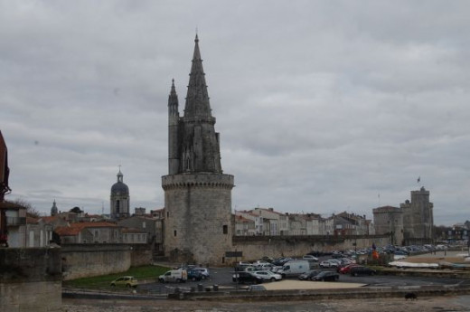 The two towers guard the entrance to the Old Port at the entrance to La Rochelle