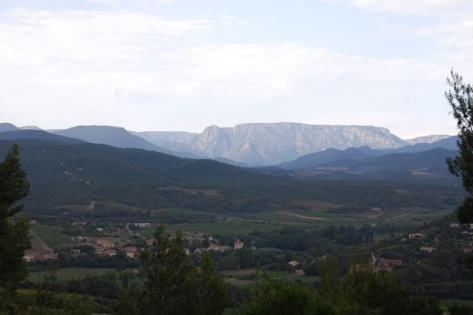 Montagne Noire between Mazamet and Beziers