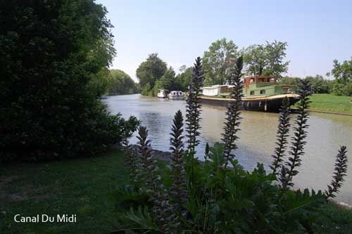 Castelnaudary on the Canal Du Midi