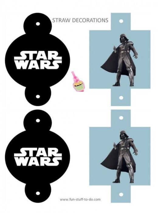 Darth Vader party printables.