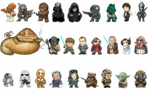 Star Wars Character Star Wars Characters Art