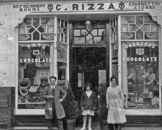 The general grocer's shop in Lossiemouth - wonder if Prince Charles remembers it?