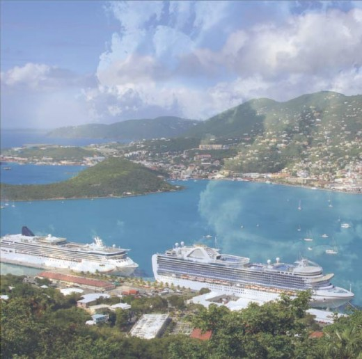 From St Thomas it is only a 45 min. Ferry Ride to Tortola in the British Virgin Islands.
