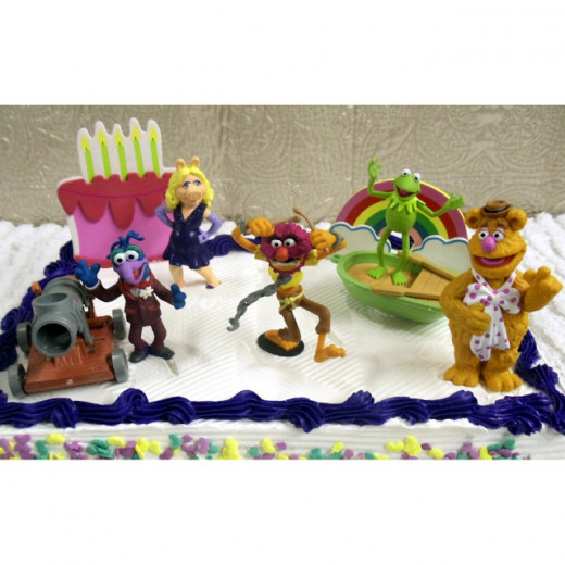 These muppet character cake toppers are available for sale on Amazon so I've included a link to the listing directly below.