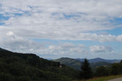 Views from Montsegur region