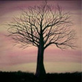Create Tree Silhouette Paintings
